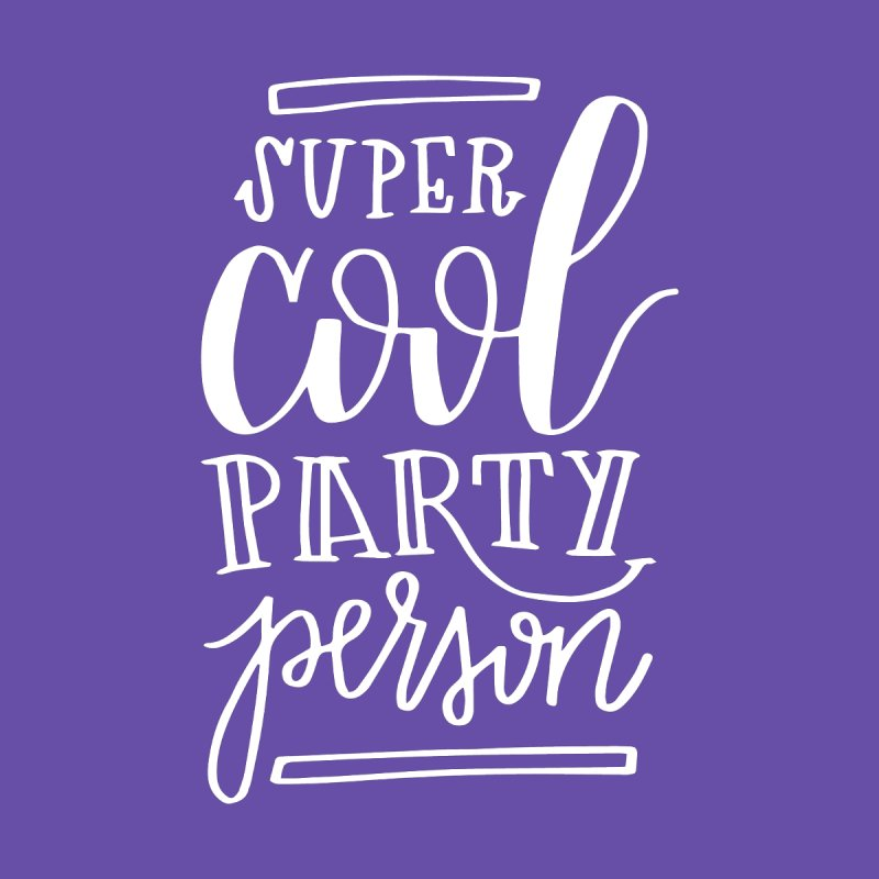 Gilmore Girls Super Cool Party Person by paigefirnbergdesign's Artist Shop