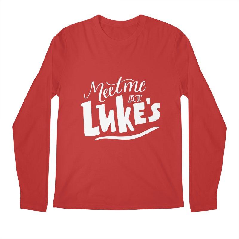 Meet Me At Lukes Men's Regular Longsleeve T-Shirt by paigefirnbergdesign's Artist Shop
