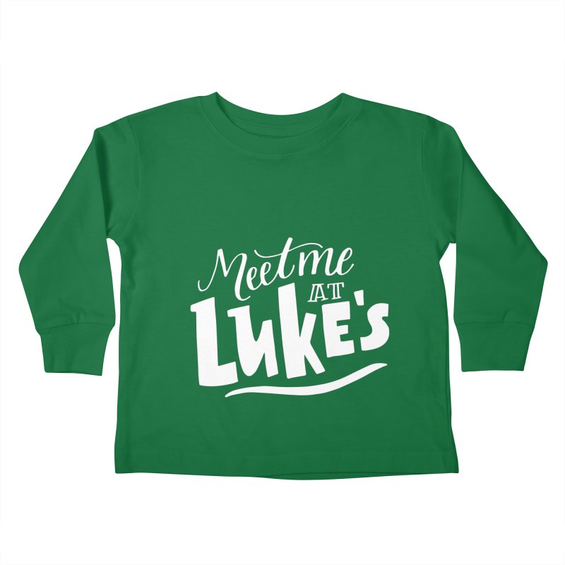 Meet Me At Lukes Kids Toddler Longsleeve T-Shirt by paigefirnbergdesign's Artist Shop