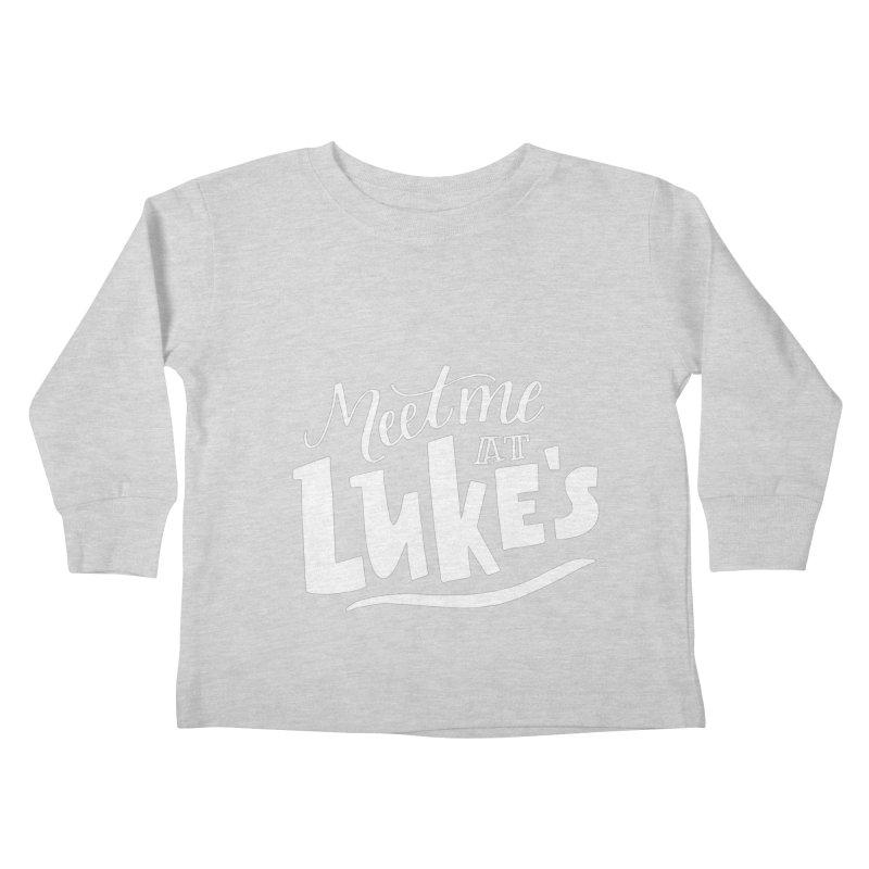 Meet Me At Lukes Kids Toddler Longsleeve T-Shirt by paigefirnbergdesign's Artist Shop