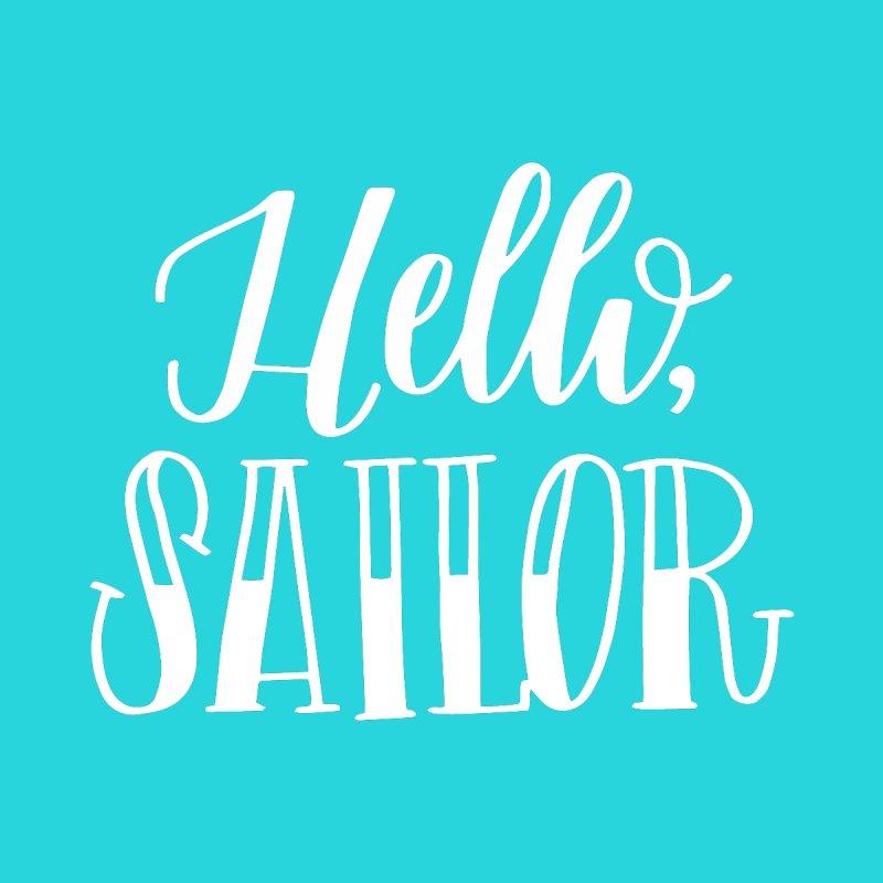 Hello Sailor Women's Tank by paigefirnbergdesign's Artist Shop