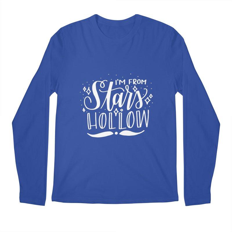 I'm From Stars Hollow Men's Regular Longsleeve T-Shirt by paigefirnbergdesign's Artist Shop