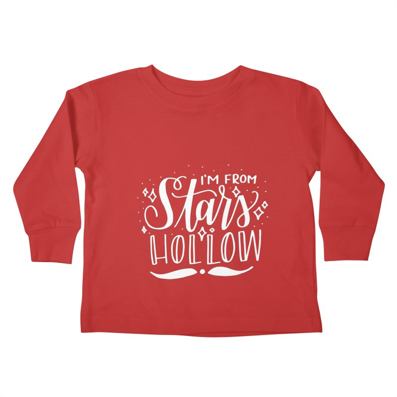 I'm From Stars Hollow Kids Toddler Longsleeve T-Shirt by paigefirnbergdesign's Artist Shop