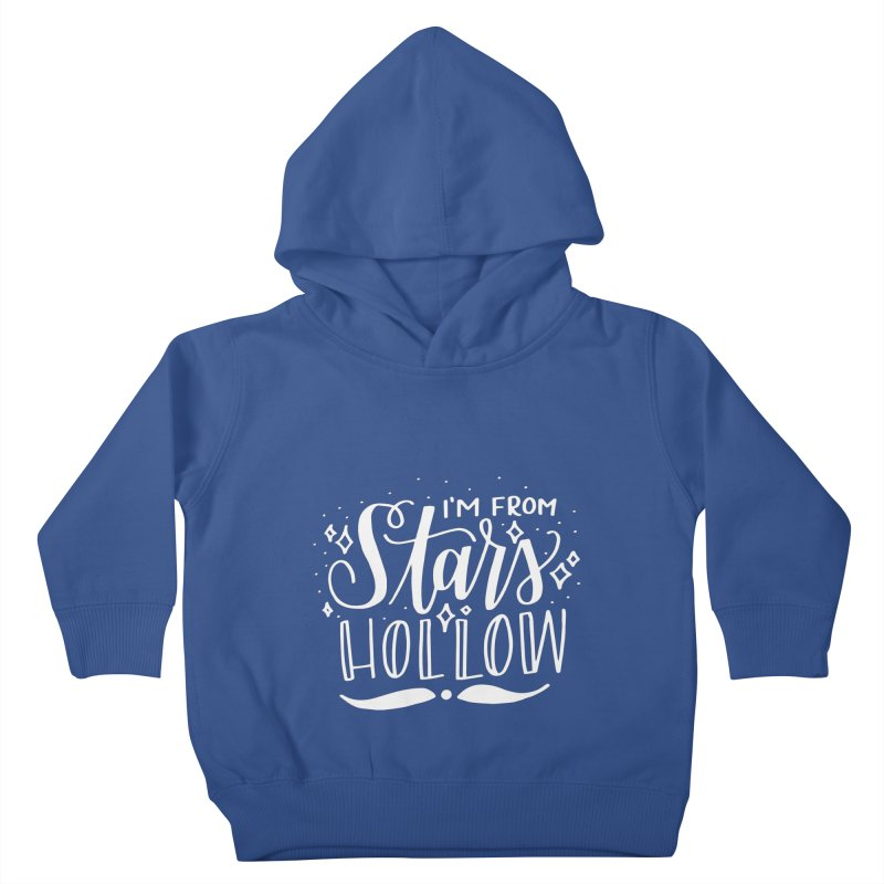 I'm From Stars Hollow Kids Toddler Pullover Hoody by paigefirnbergdesign's Artist Shop