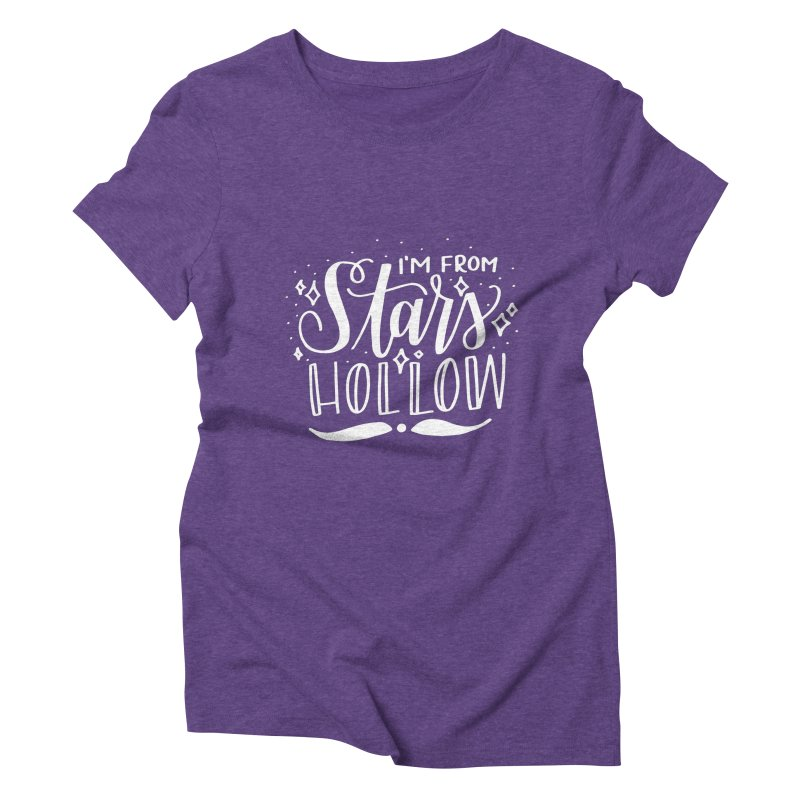 I'm From Stars Hollow Women's Triblend T-Shirt by paigefirnbergdesign's Artist Shop
