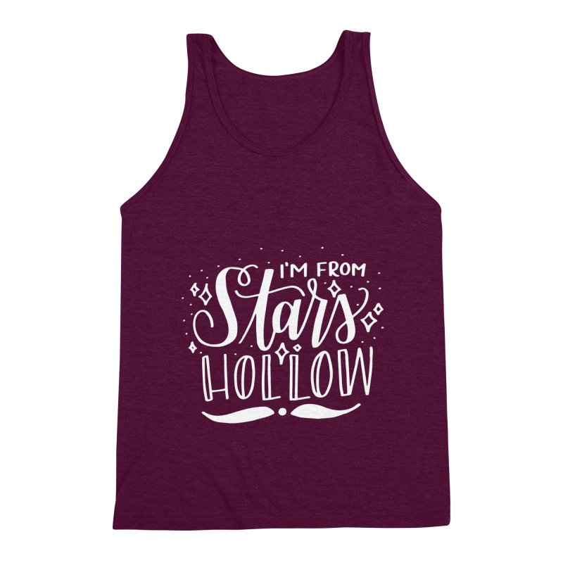 I'm From Stars Hollow Men's Triblend Tank by paigefirnbergdesign's Artist Shop