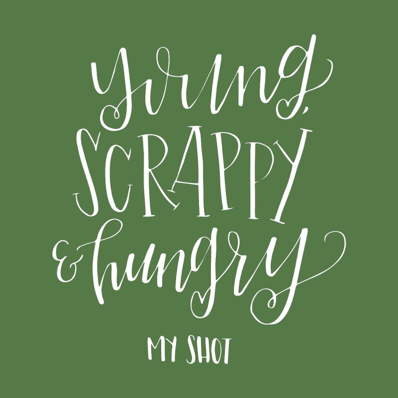 Young Scrappy and Hungry by paigefirnbergdesign's Artist Shop