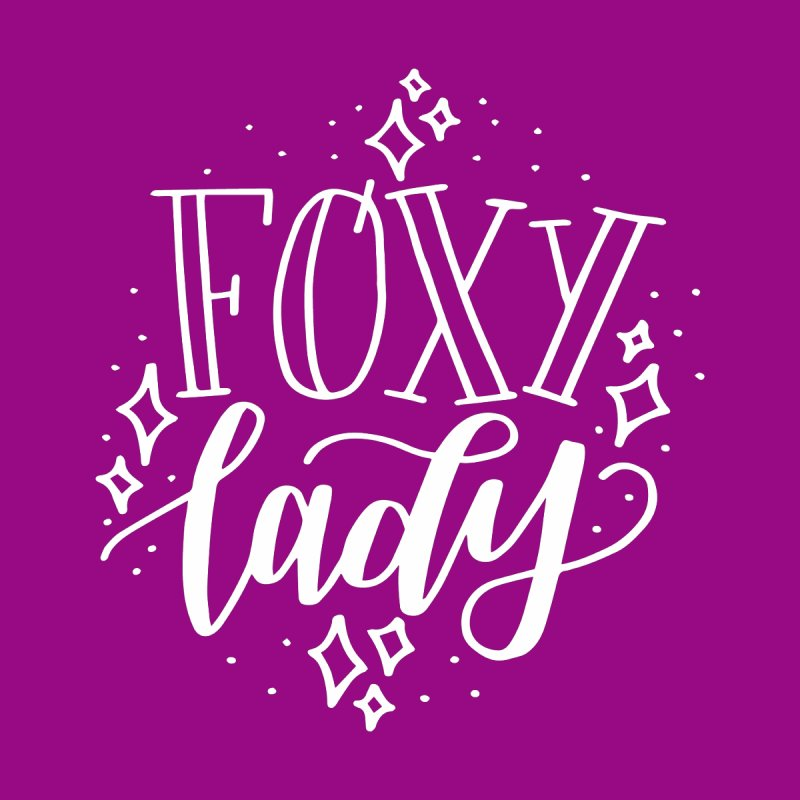 Foxy Lady Men's T-Shirt by paigefirnbergdesign's Artist Shop