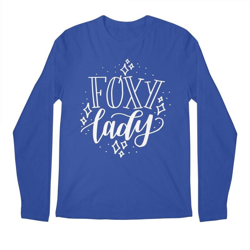 Foxy Lady Men's Regular Longsleeve T-Shirt by paigefirnbergdesign's Artist Shop