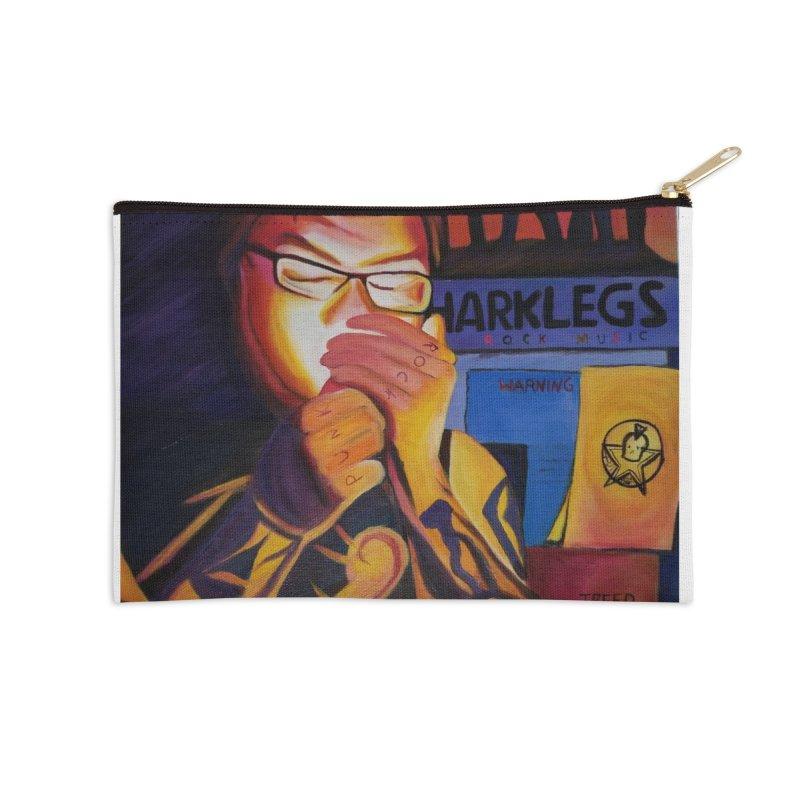 Jamie Dlux Accessories Zip Pouch by paintbytiger's Artist Shop