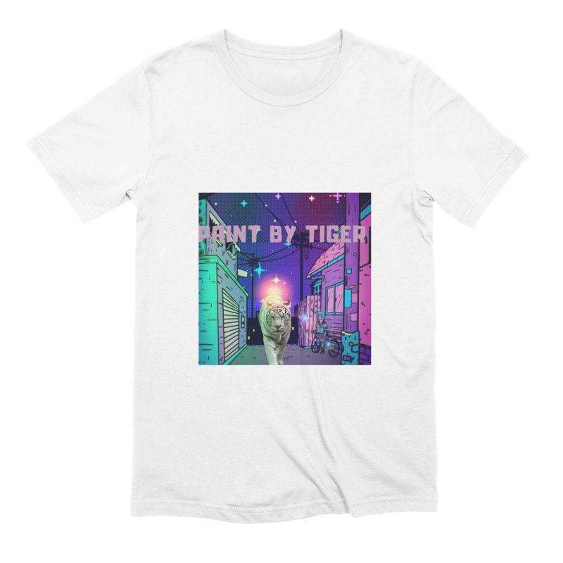 Paint by Tiger Men's T-Shirt by paintbytiger's Artist Shop