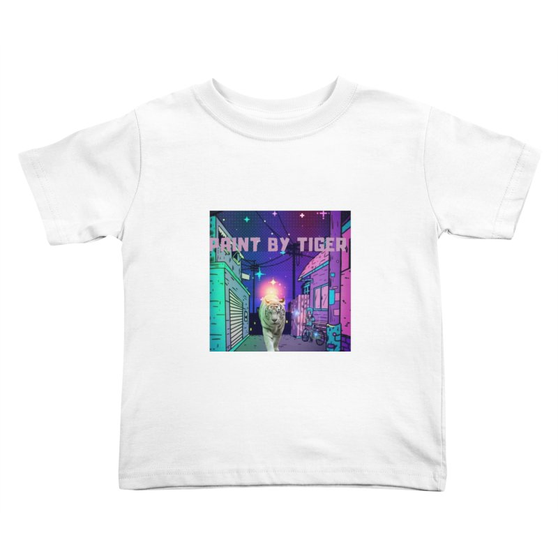 Paint by Tiger Kids Toddler T-Shirt by paintbytiger's Artist Shop