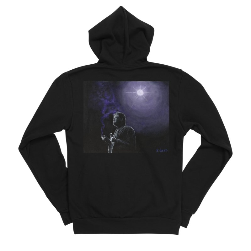 Bill Hicks Men's Sponge Fleece Zip-Up Hoody by paintbytiger's Artist Shop