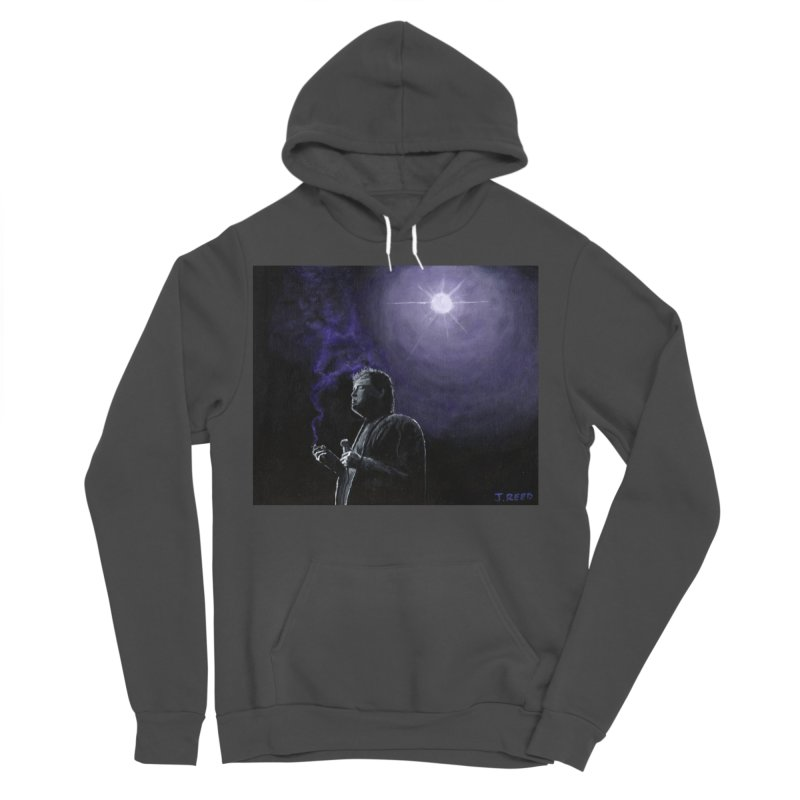 Bill Hicks Women's Sponge Fleece Pullover Hoody by paintbytiger's Artist Shop