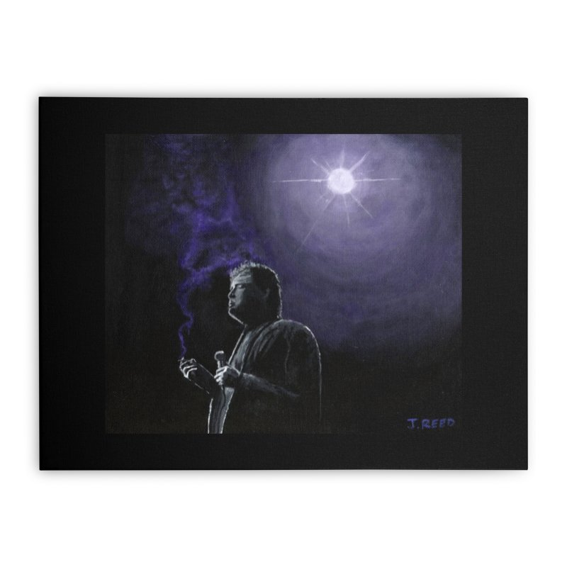 Bill Hicks Home Stretched Canvas by paintbytiger's Artist Shop