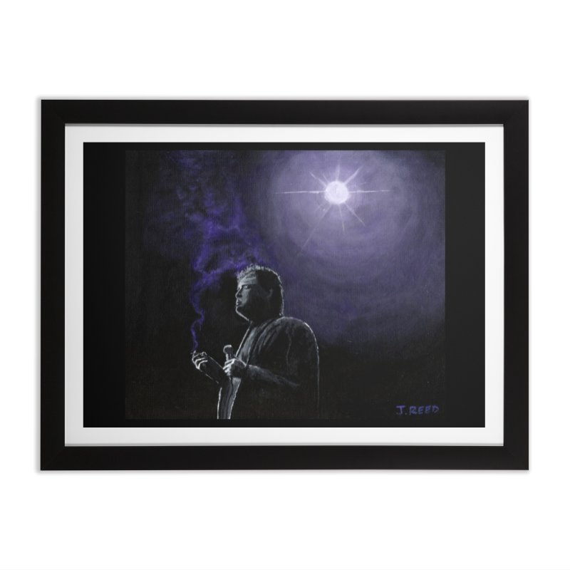 Bill Hicks Home Framed Fine Art Print by paintbytiger's Artist Shop