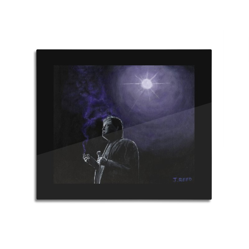 Bill Hicks Home Mounted Acrylic Print by paintbytiger's Artist Shop