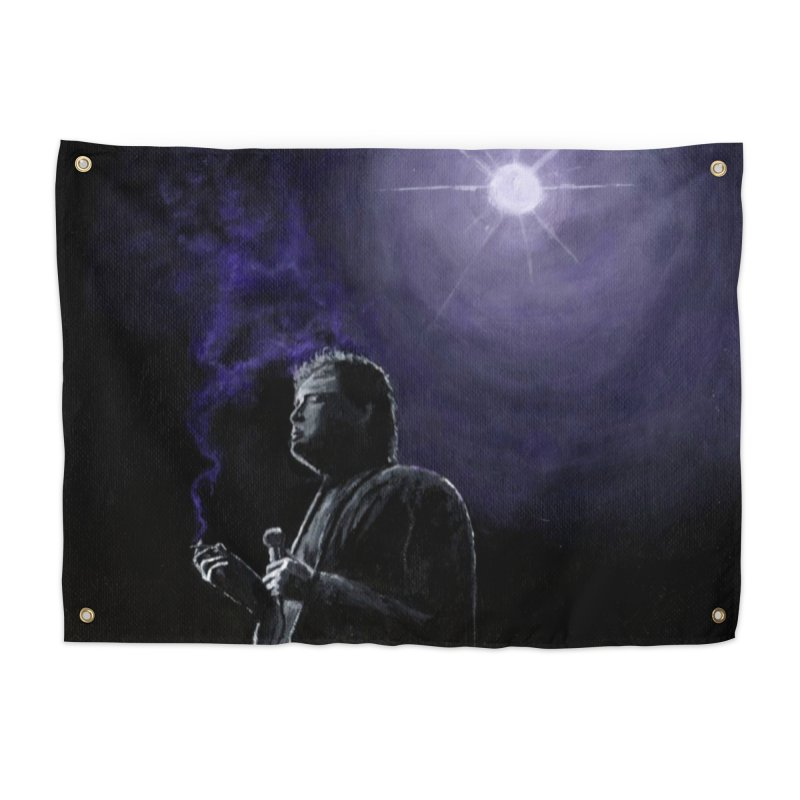 Bill Hicks Home Tapestry by paintbytiger's Artist Shop
