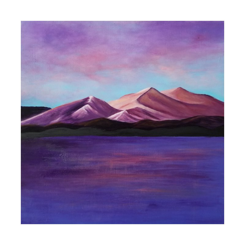 Purple Mountains by paintbytiger's Artist Shop