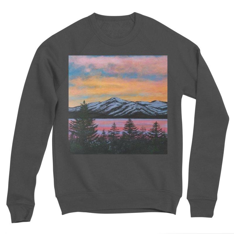 Lake Tahoe Men's Sponge Fleece Sweatshirt by paintbytiger's Artist Shop