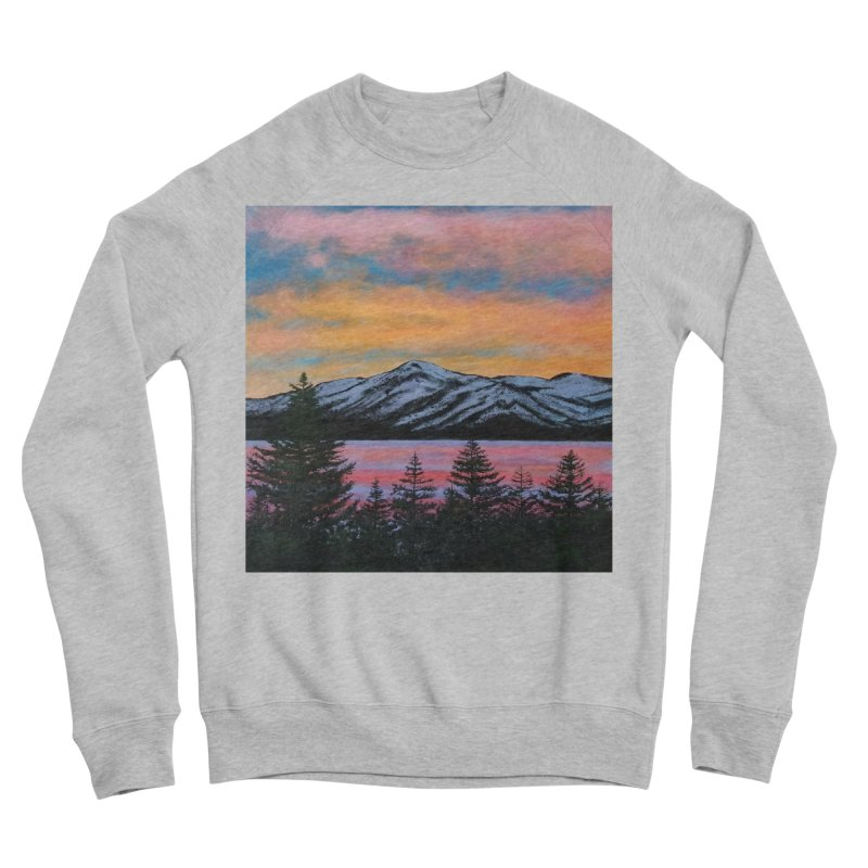 Lake Tahoe Women's Sponge Fleece Sweatshirt by paintbytiger's Artist Shop