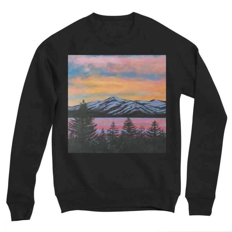 Lake Tahoe Women's Sponge Fleece Sweatshirt by paintbytiger's Artist Shop