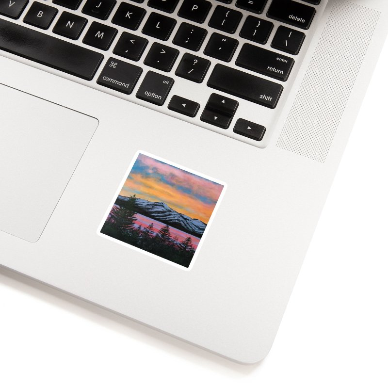 Lake Tahoe Accessories Sticker by paintbytiger's Artist Shop