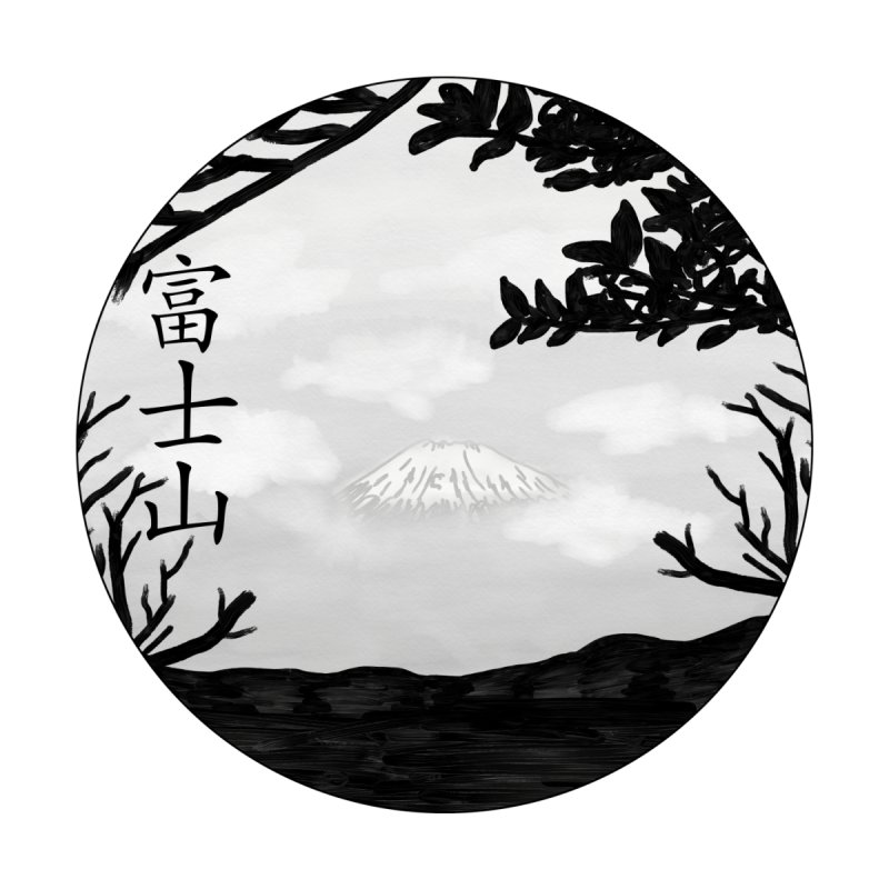 Fuji-san Yama by paintedpeak's Artist Shop