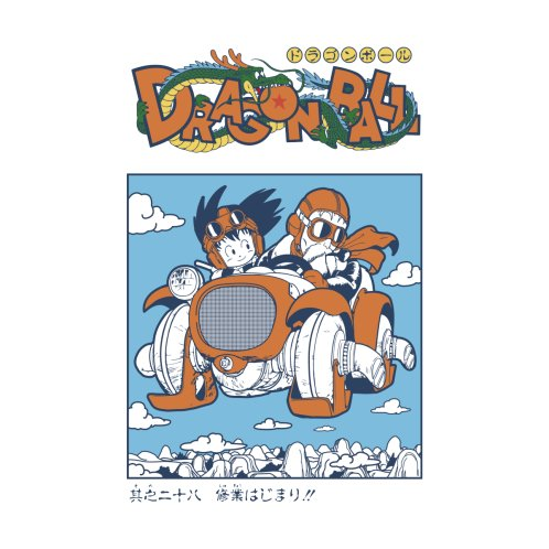 Design for Goku and Roshi
