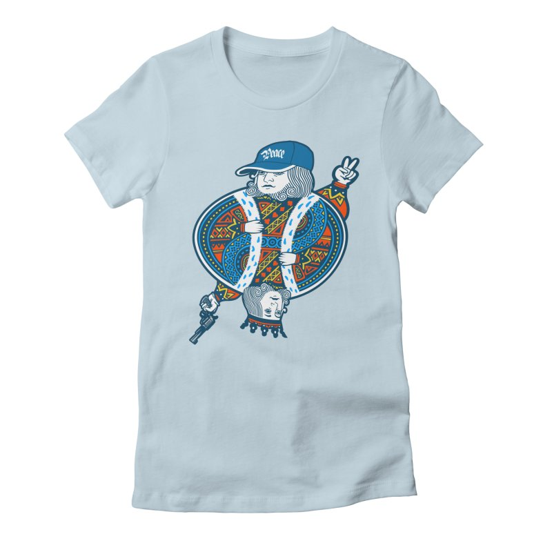 Peace & War Women's Fitted T-Shirt by Pakai Baung