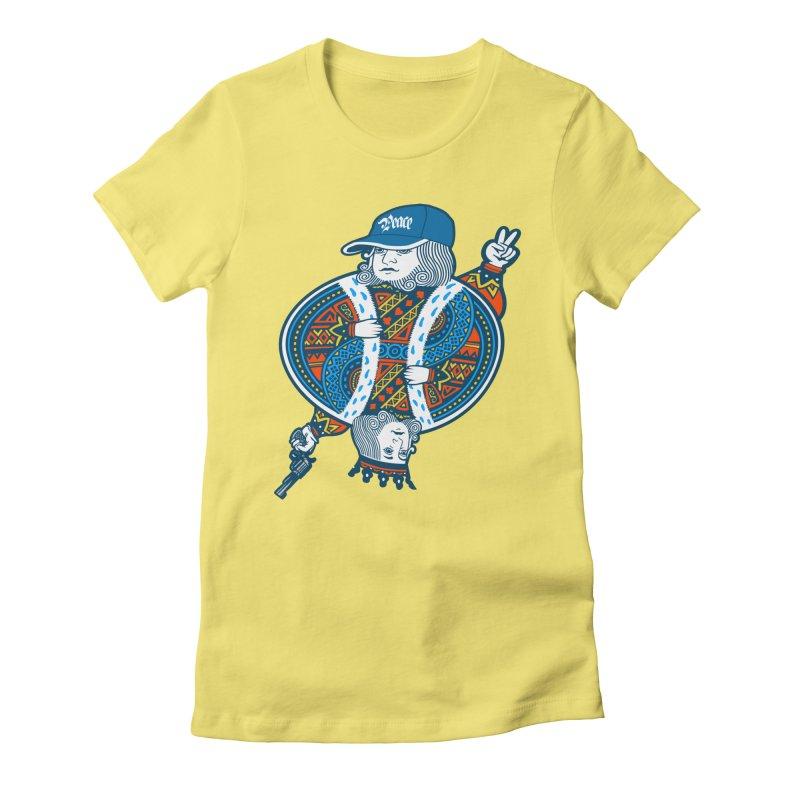 Peace & War Women's Fitted T-Shirt by Pakai Baung