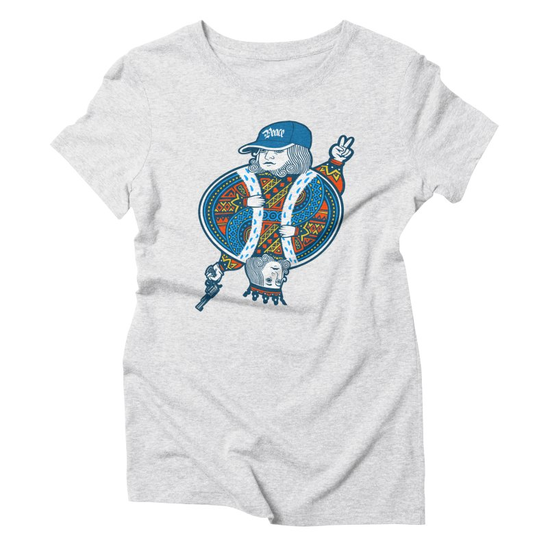 Peace & War Women's Triblend T-shirt by Pakai Baung