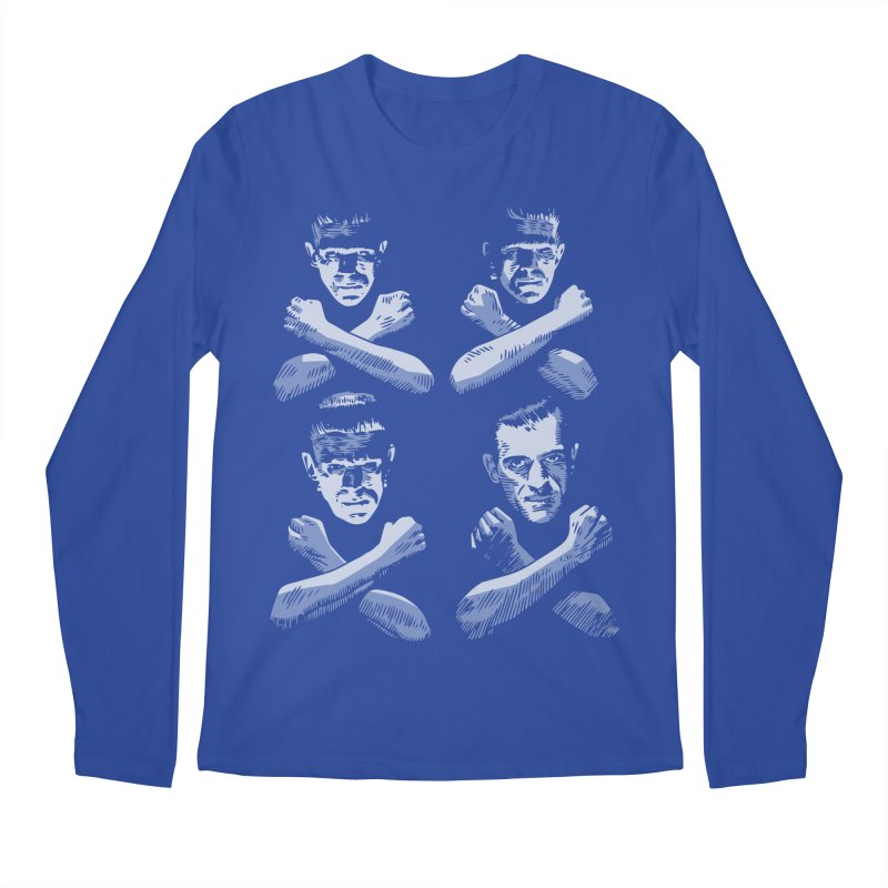 Master of Frankenstein Men's Longsleeve T-Shirt by Pakai Baung