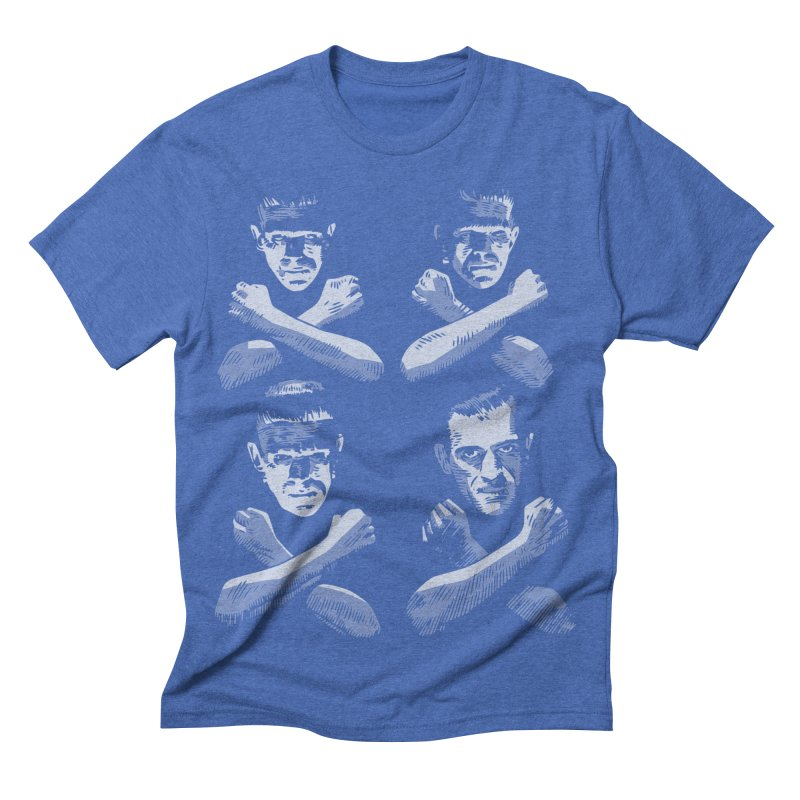 Master of Frankenstein Men's Triblend T-shirt by Pakai Baung