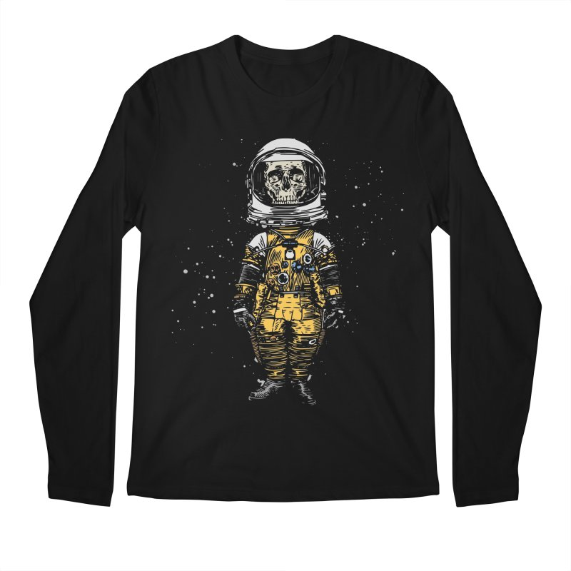 Space Traveller Men's Longsleeve T-Shirt by Pakai Baung