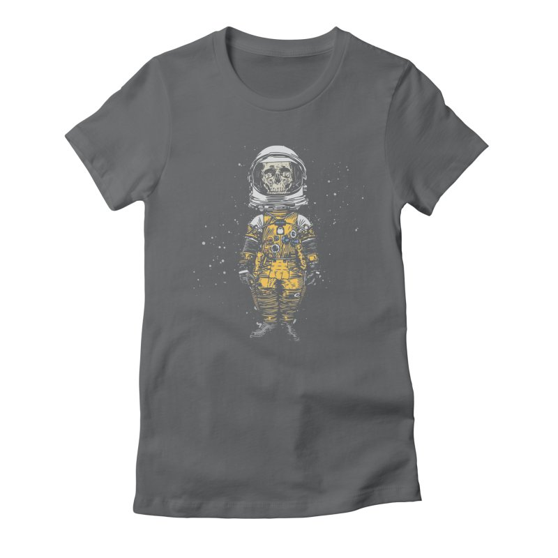 Space Traveller Women's Fitted T-Shirt by Pakai Baung