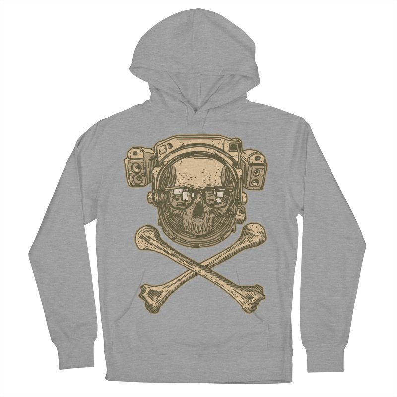 Space Pirate Women's Pullover Hoody by Pakai Baung