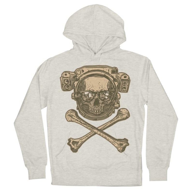Space Pirate Men's Pullover Hoody by Pakai Baung