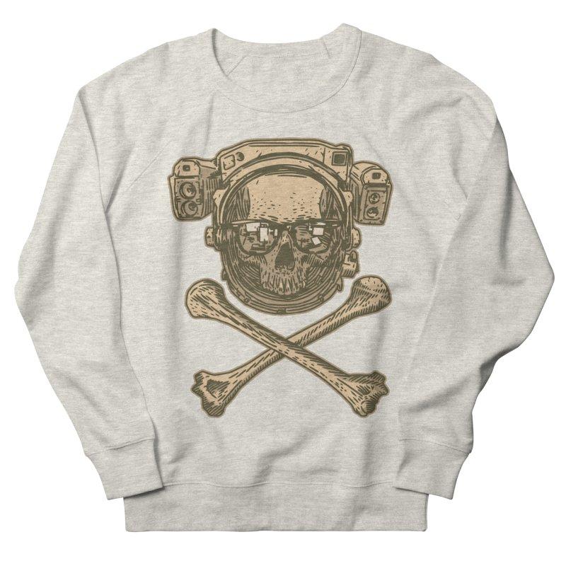 Space Pirate Men's French Terry Sweatshirt by Pakai Baung