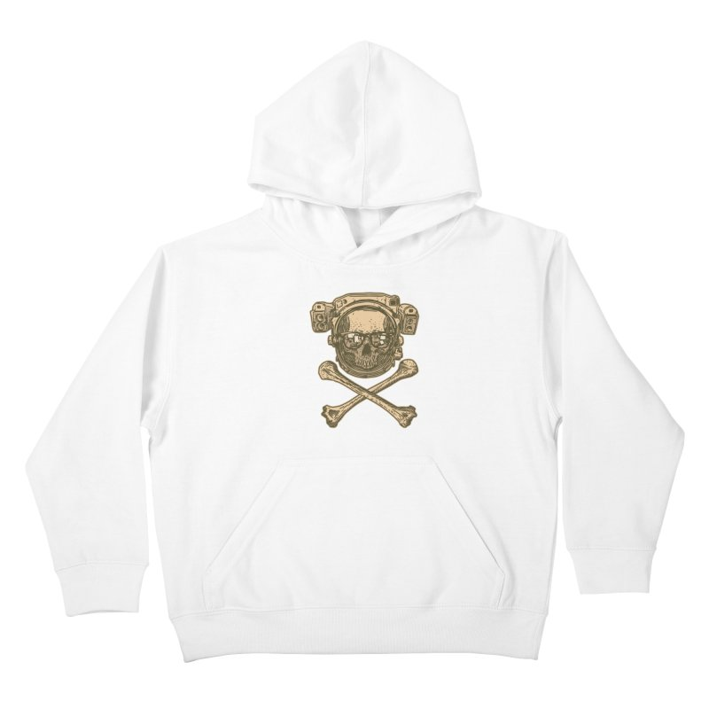 Space Pirate Kids Pullover Hoody by Pakai Baung