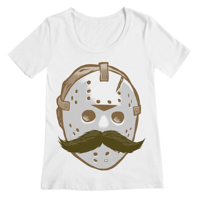 Friday The Movember Women's Scoopneck by Pakai Baung