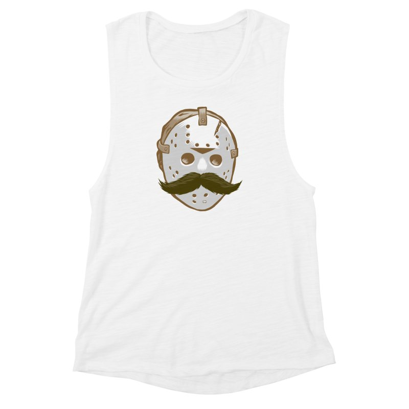 Friday The Movember Women's Muscle Tank by Pakai Baung