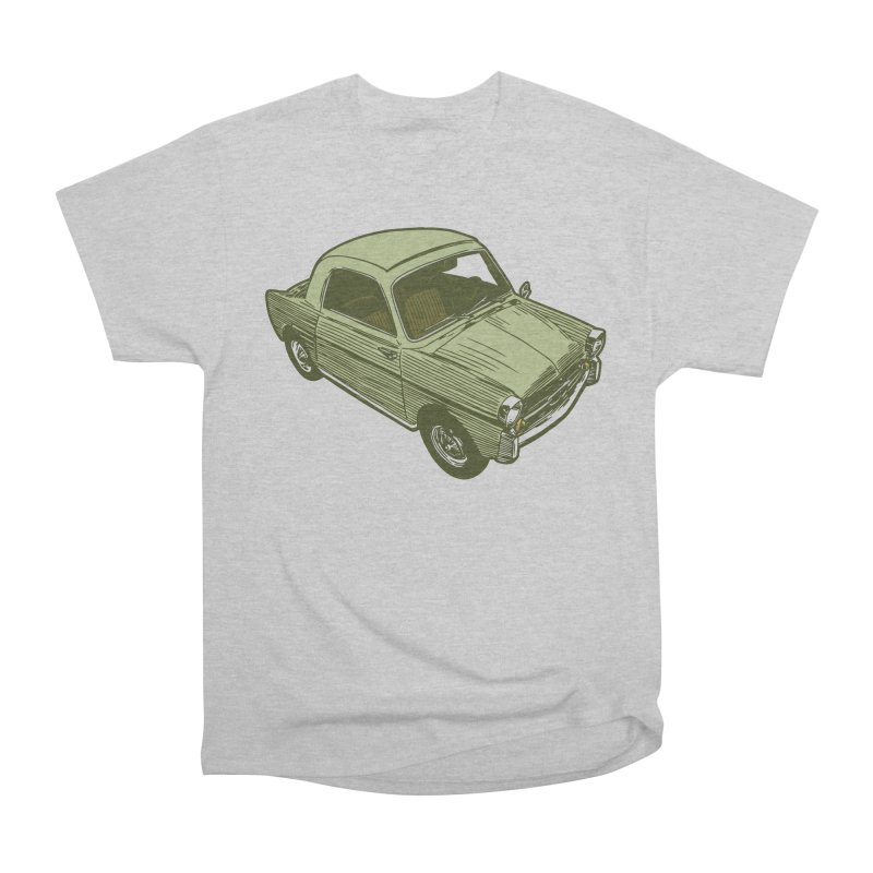 Vintage Cute Car Women's Classic Unisex T-Shirt by Pakai Baung