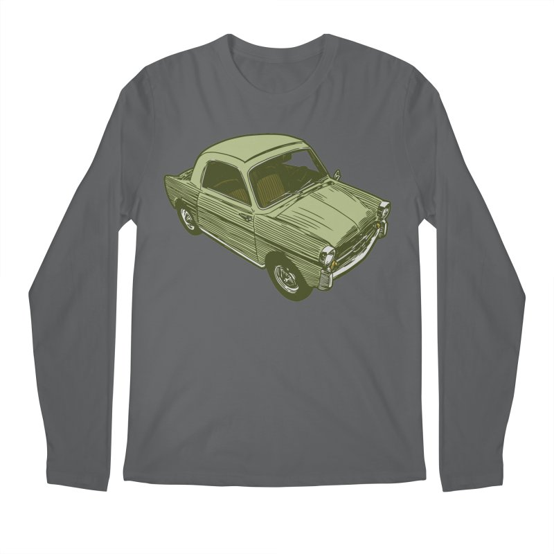 Vintage Cute Car Men's Longsleeve T-Shirt by Pakai Baung