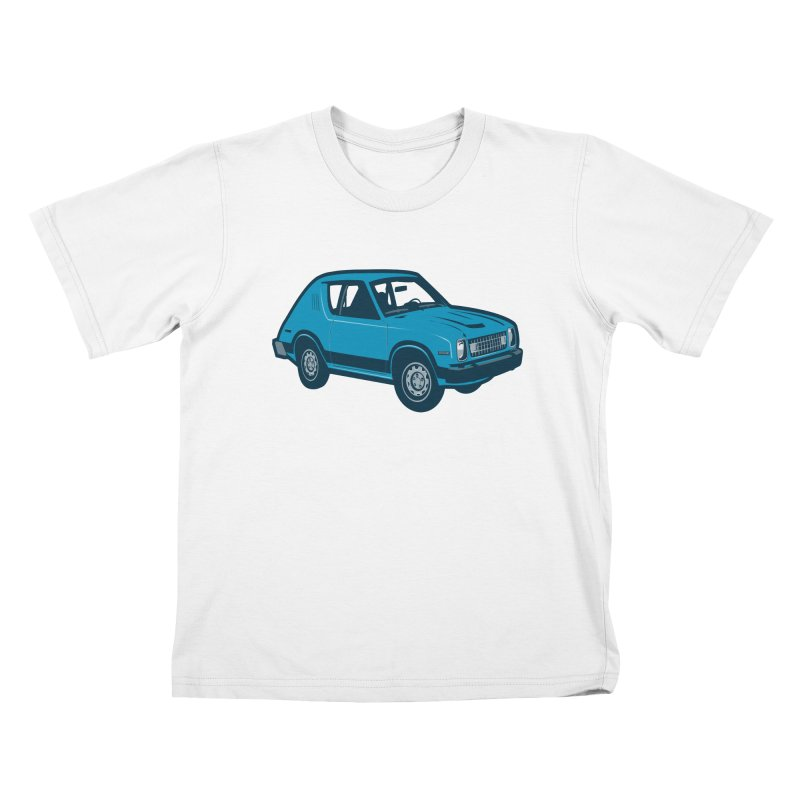 Vintage Ride Kids T-Shirt by Pakai Baung