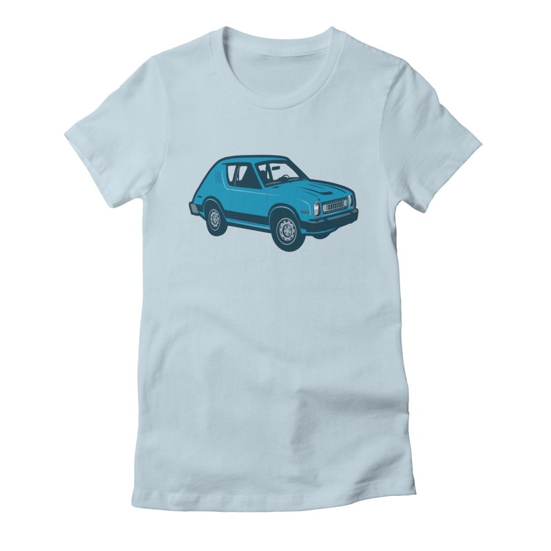Vintage Ride Women's Fitted T-Shirt by Pakai Baung