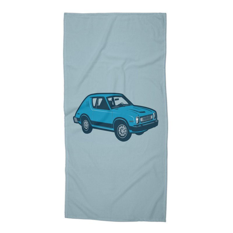 Vintage Ride Accessories Beach Towel by Pakai Baung