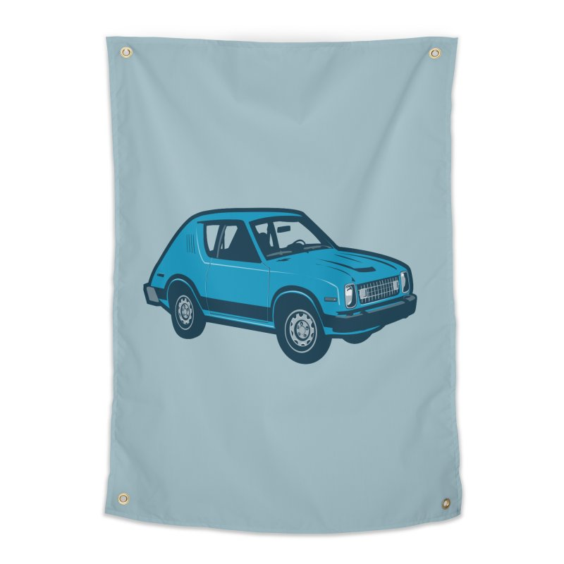 Vintage Ride Home Tapestry by Pakai Baung