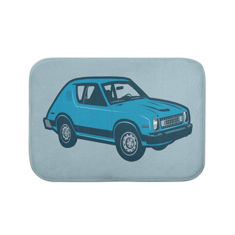 Vintage Ride Home Bath Mat by Pakai Baung