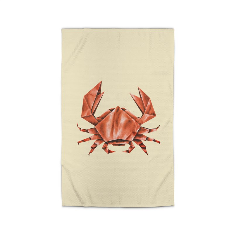 Crabgami Home Rug by Palitosci